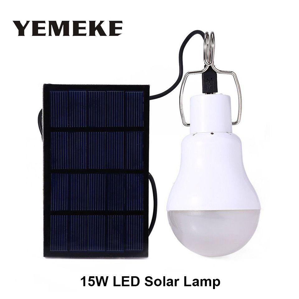 Sonnenlicht Led Solar Licht 15 Watt Solar Power System Garten Licht