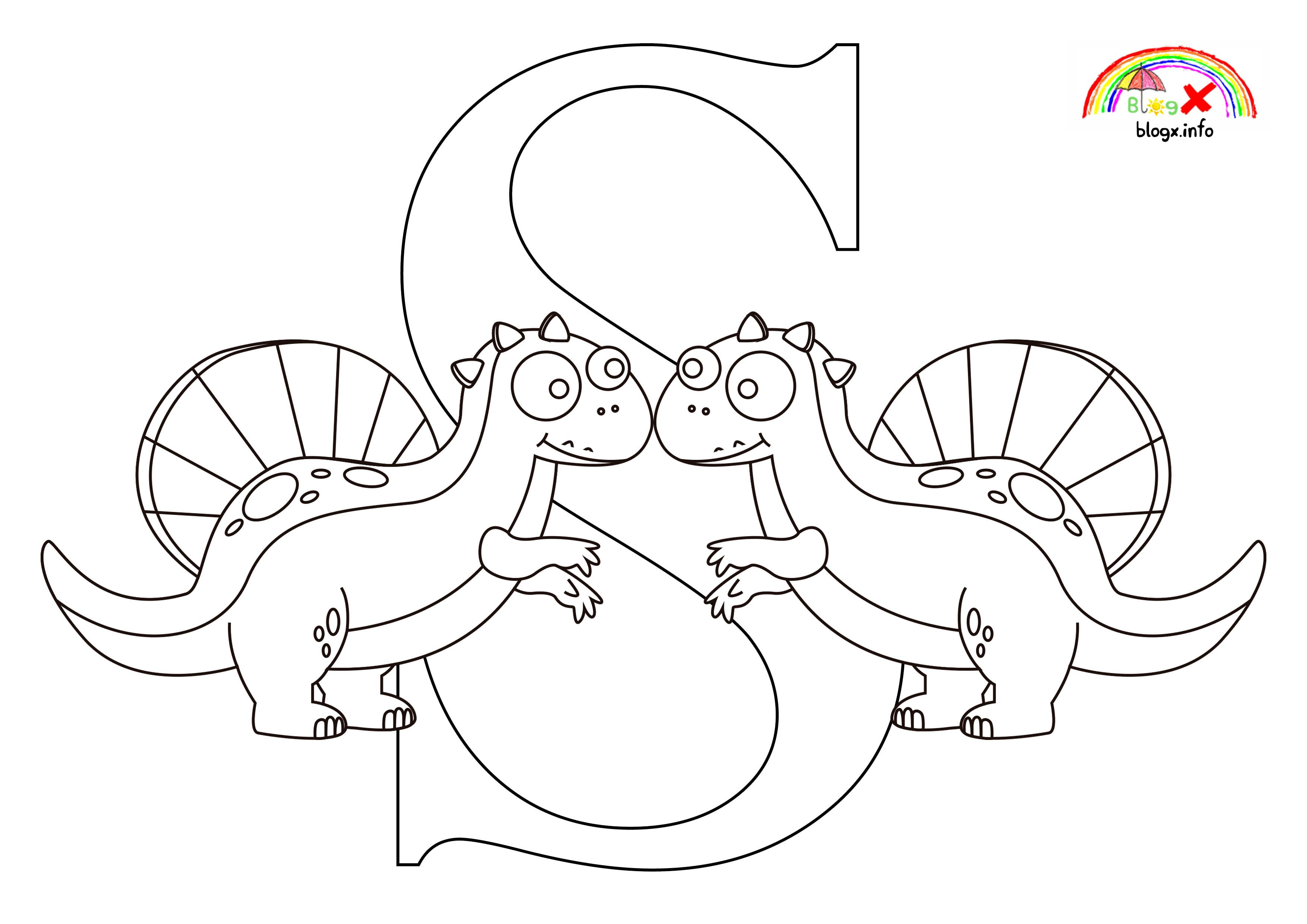 Sphinosaurus Dinosaurs Coloring Page Blogx Info Dinosaur Coloring Pages Dinosaur Coloring Coloring Pages