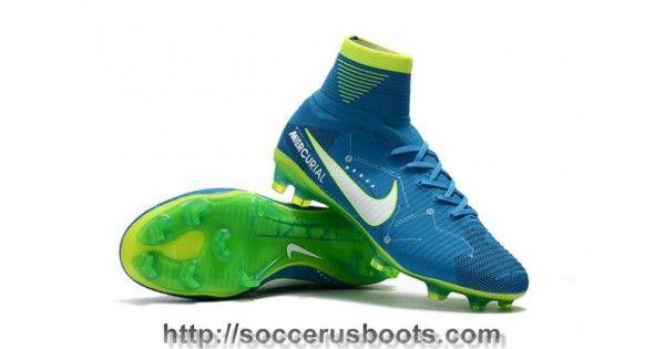 61857b895094ba Nike Kids Mercurial Superfly V SX Neymar FG Soccer Cleats - Blue Orbit White  Armory Navy