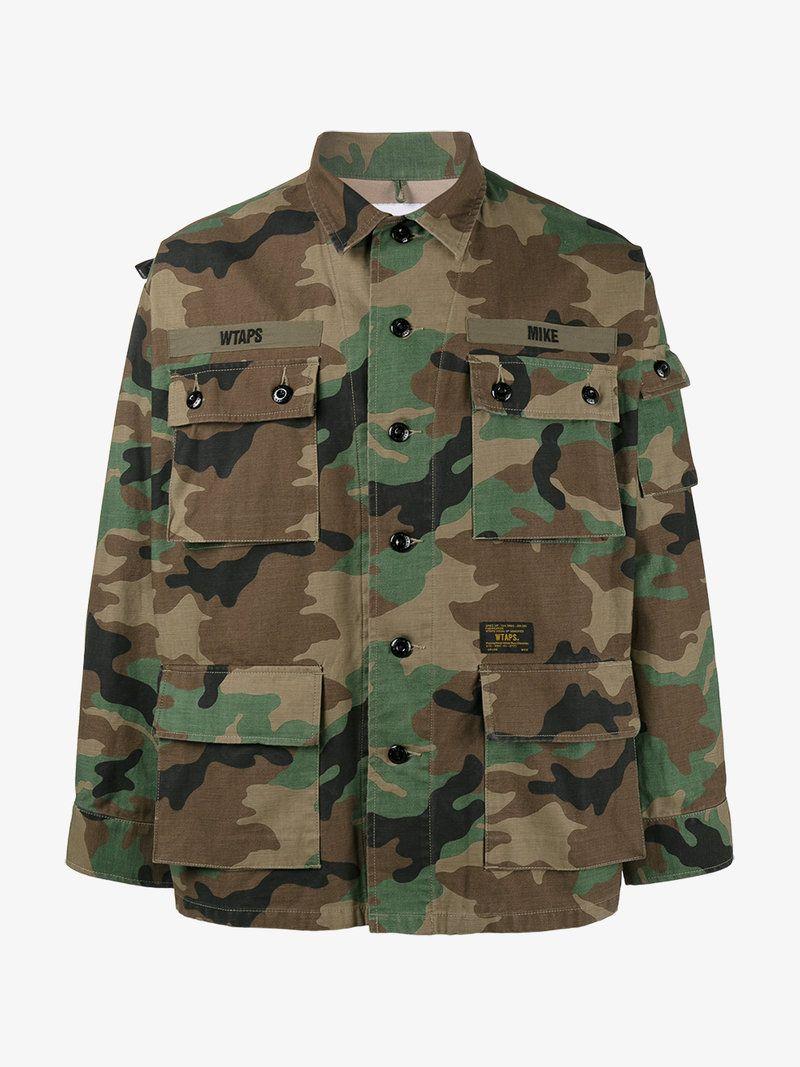 81c7f83ec18e3 WTAPS CAMOUFLAGE MILITARY JACKET. #wtaps #cloth # | Wtaps Men ...