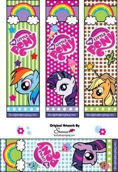 Free Printable My Little Pony Bookmarks My Little Pony