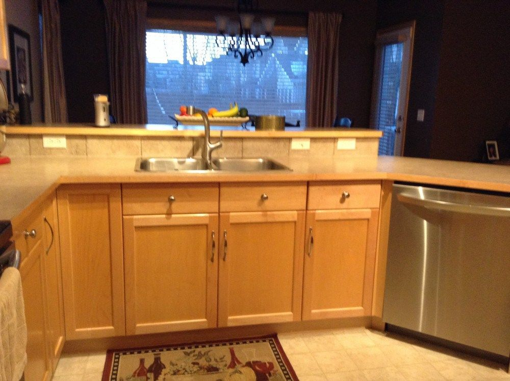 kitchen cabinets maple with natural stain from Kitchen Cabinets In ...