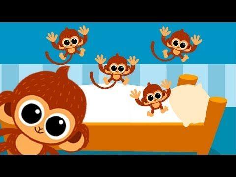 Cinque Scimmiette Saltavano Sul Letto.Le Cinque Scimmiette Che Saltano Sul Letto Bambini Genitori Gli