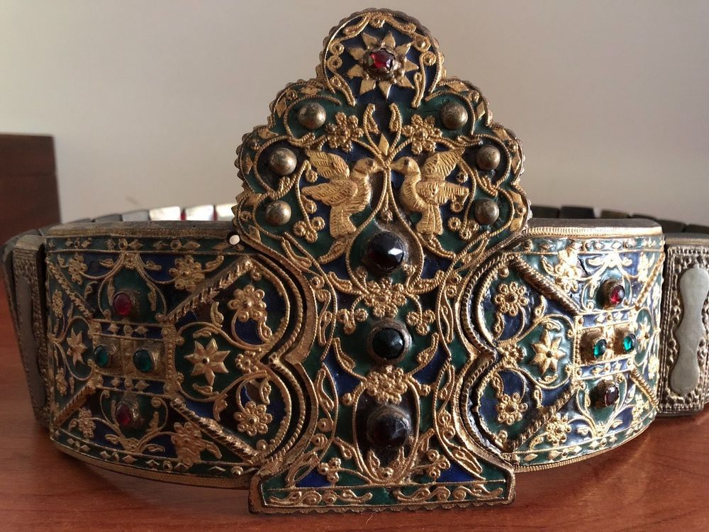 Enamel Gilded Wedding Belt Greece