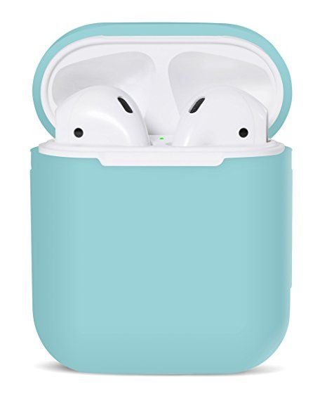 40dfddd3a7c PodSkinz AirPods Case Protective Silicone Cover and Skin for Apple Airpods  Charging Case (Diamond Blue) affiliate link