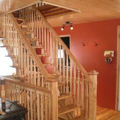 Escalier De Merisier Amp Frene Huile