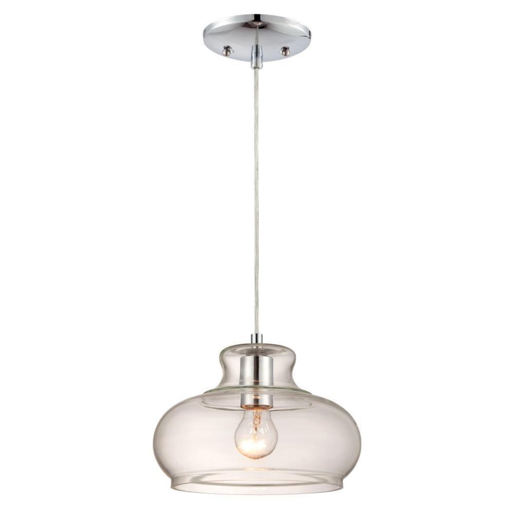 Westinghouse 1-Light Chrome Pendant | Decorations | Pinterest