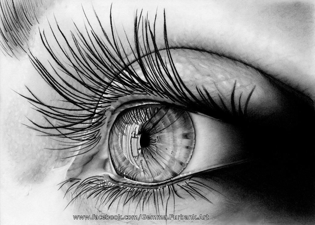 8 hard things to draw realistic eye drawing skills and