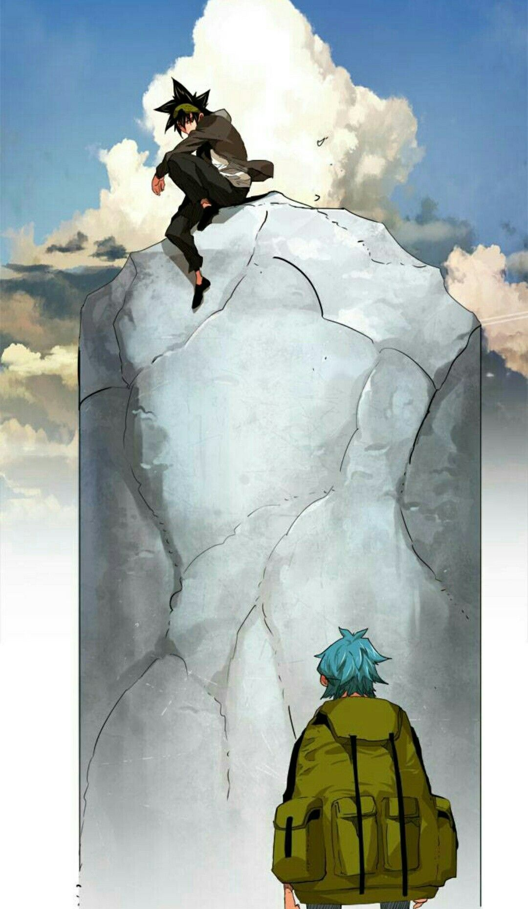 God of highschool Mori Jin Monkey king, Character design