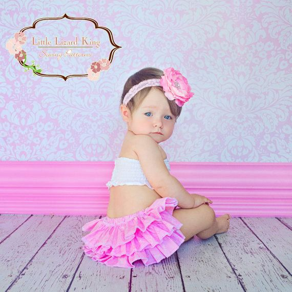 Baby Diaper Cover Sewing Pattern Infant Girl By