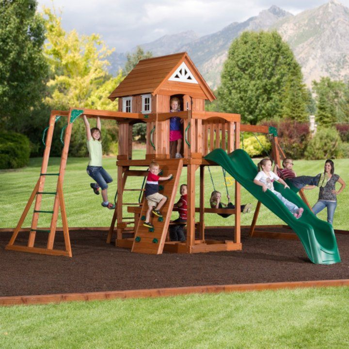 Sam S Club Oceanview Cedar Swing Set With Free Installation