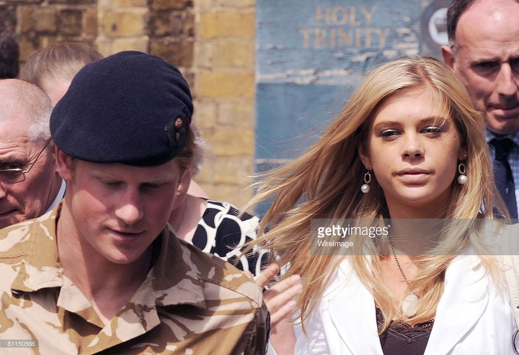 43f457d95ba7b Prince Harry and girlfriend Chelsy Davy attend a service of remembrance and  thanksgiving at the Holy Trinity Church on May 5 2008 in Windsor.