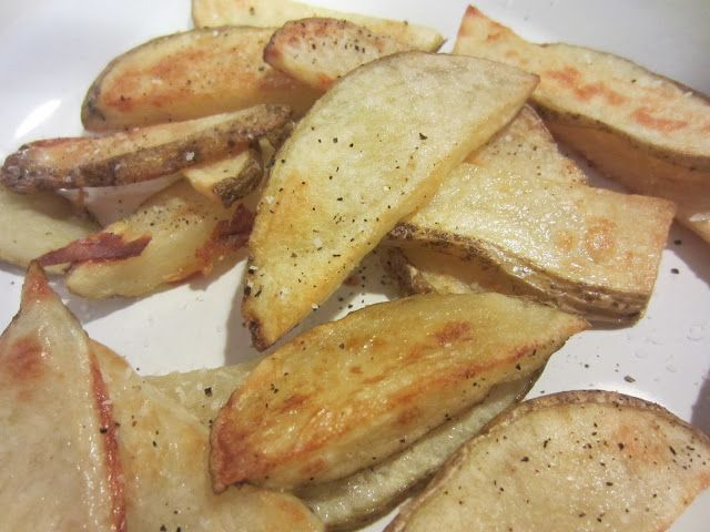 yummy oven fries - make sure to follow the instructions!!