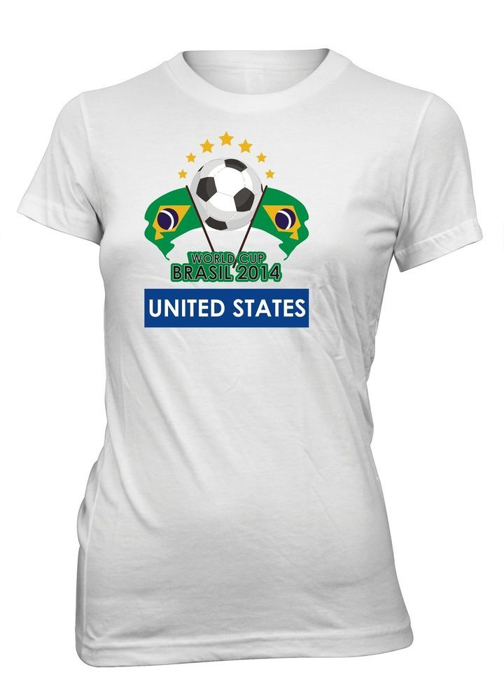 Junior's United States World Cup 2014 Brazil Soccer T-Shirt