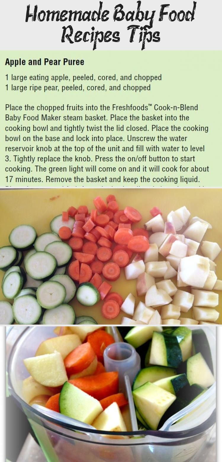 Homemade baby food is so much healthier, & more cost ...