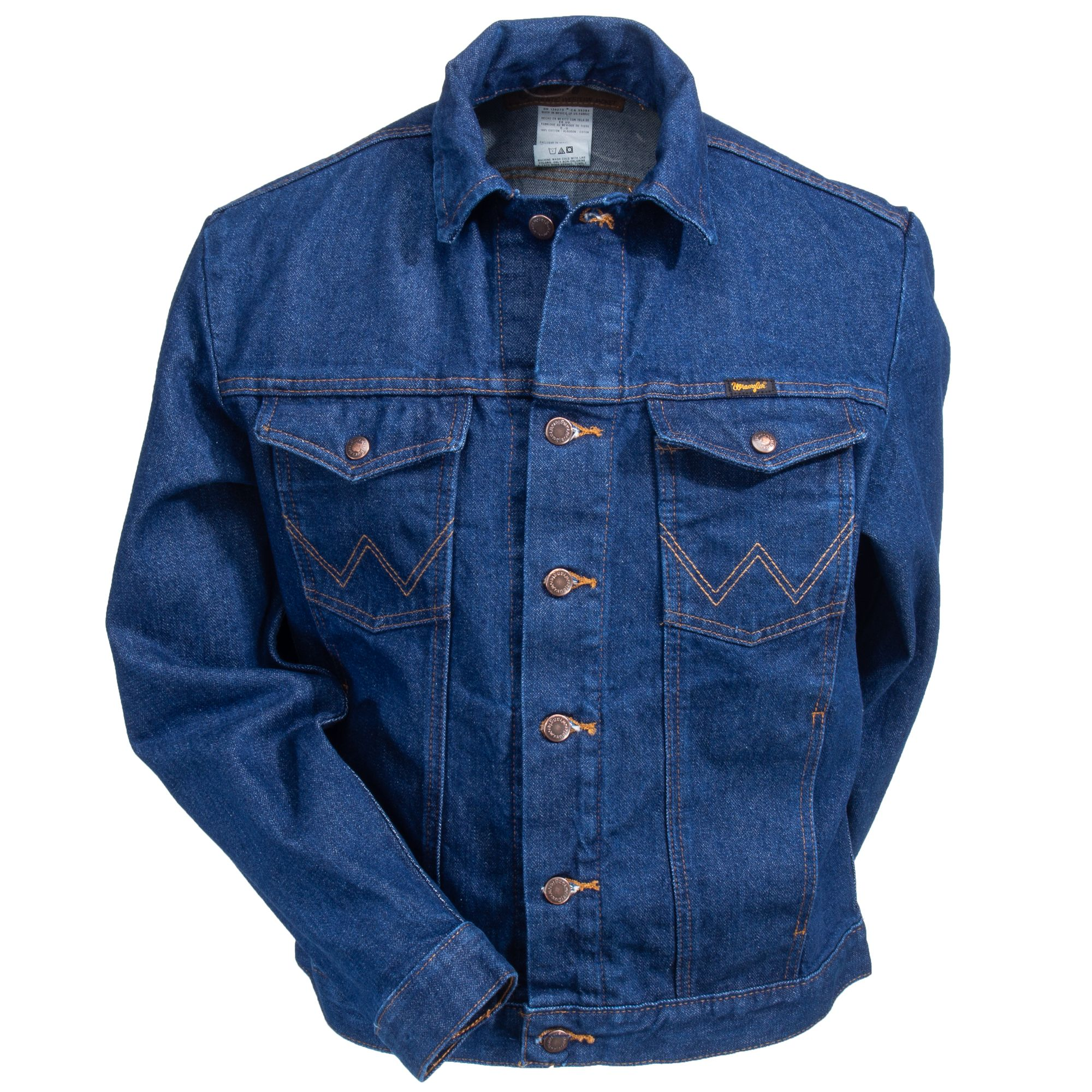 Wrangler Men S 74145 Pw Unlined Prewashed Denim Jacket Jackets Denim Denim Jacket [ 2000 x 2000 Pixel ]