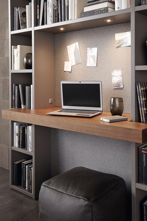 Perfekt Integriert: Das Mini Büro Im Wohnzimmer. Mehr Ideen Zu Global 4450  Gibts
