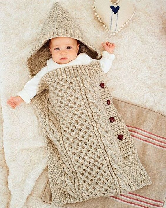 a little baby cocoon!! all the @deramores | Crochet baby | Pinterest
