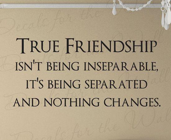 Best Friend Memories: True Friendship Friends Quote Decal ...