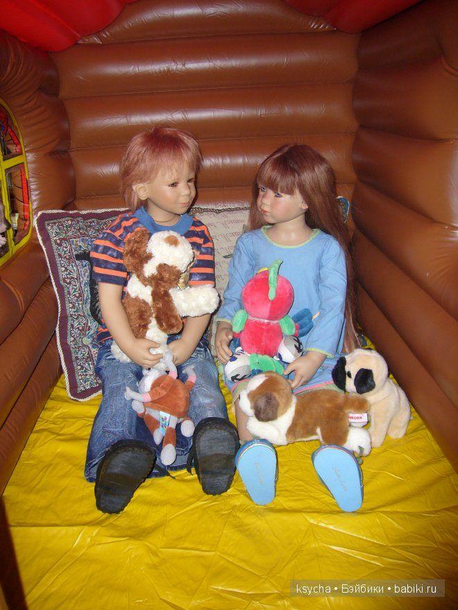 Кто -кто в теремочке живет? Inke Hugo Tivi Margeli от Annett Himstedt / Коллекционные куклы Annette Himstedt / Бэйбики. Куклы фото. Одежда для кукол