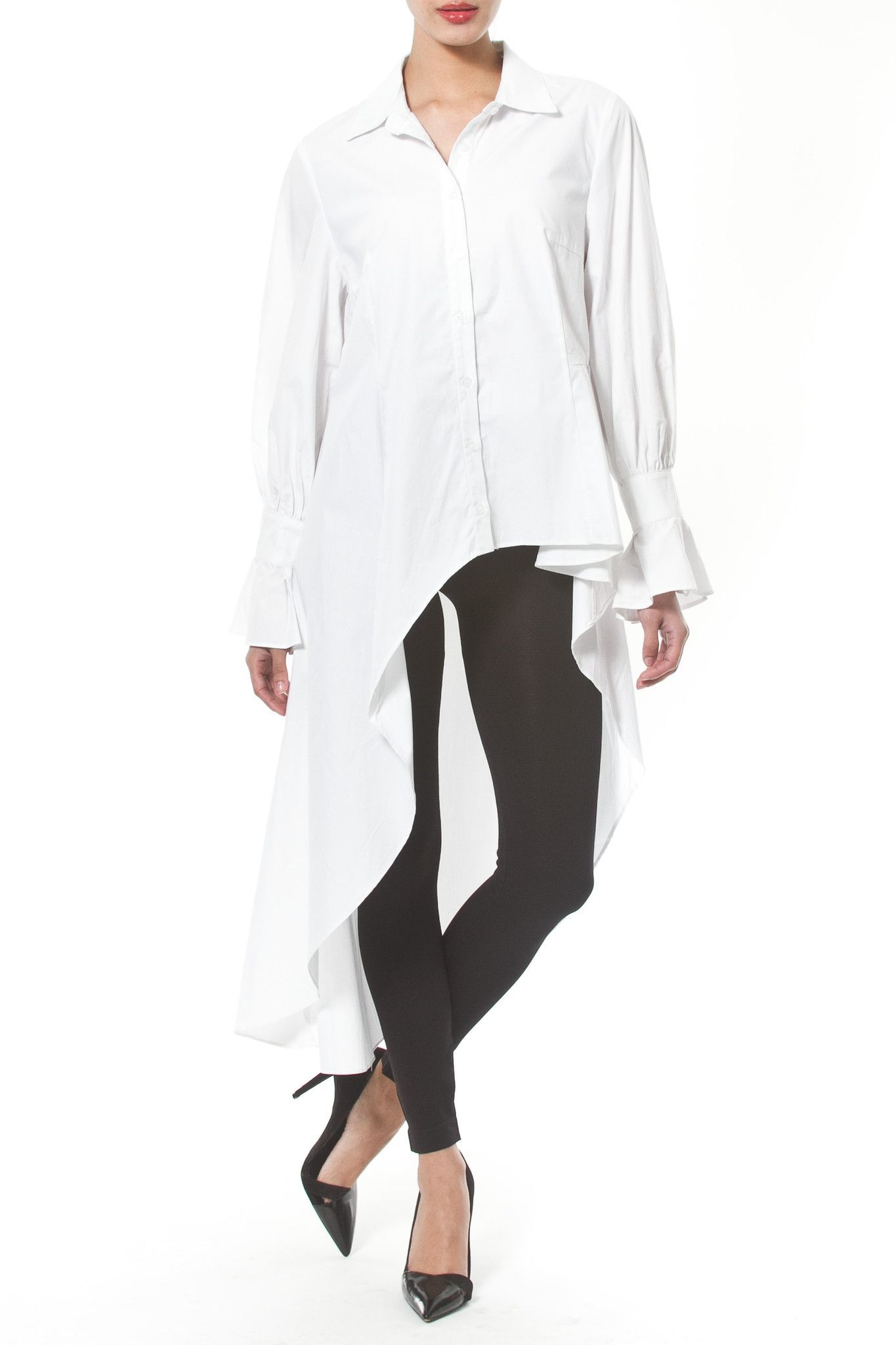 OVERSIZE WHITE SHIRT/DRESS