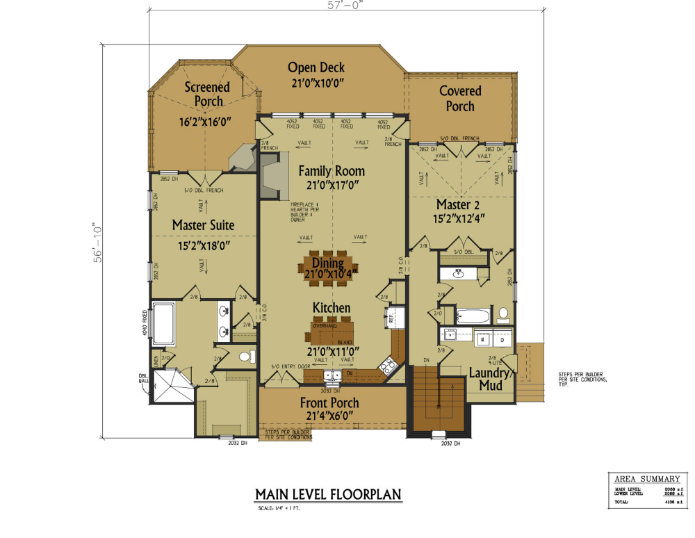 double master on main level house plan max fulbright