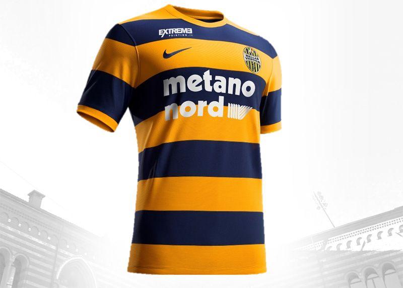 Camisas do Hellas Verona 2016-2017 Nike  dc942bb0a5255