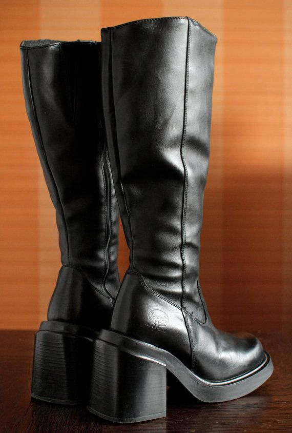 Goth platform boots \u0026 shoes