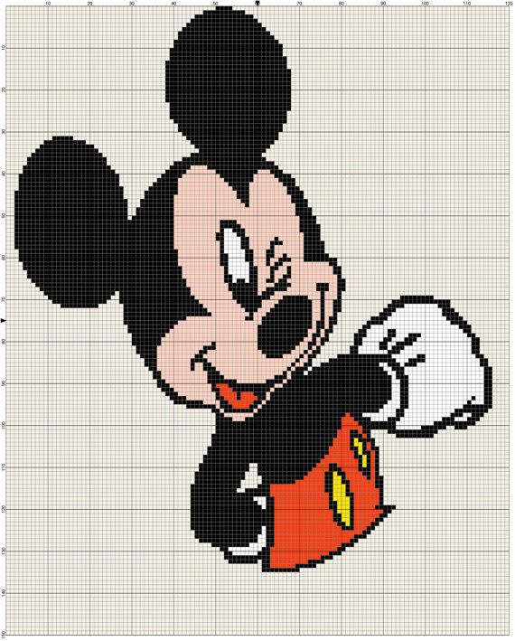 T l chargement instantan mickey mouse afghan crochet - Mickey mouse gratuit ...