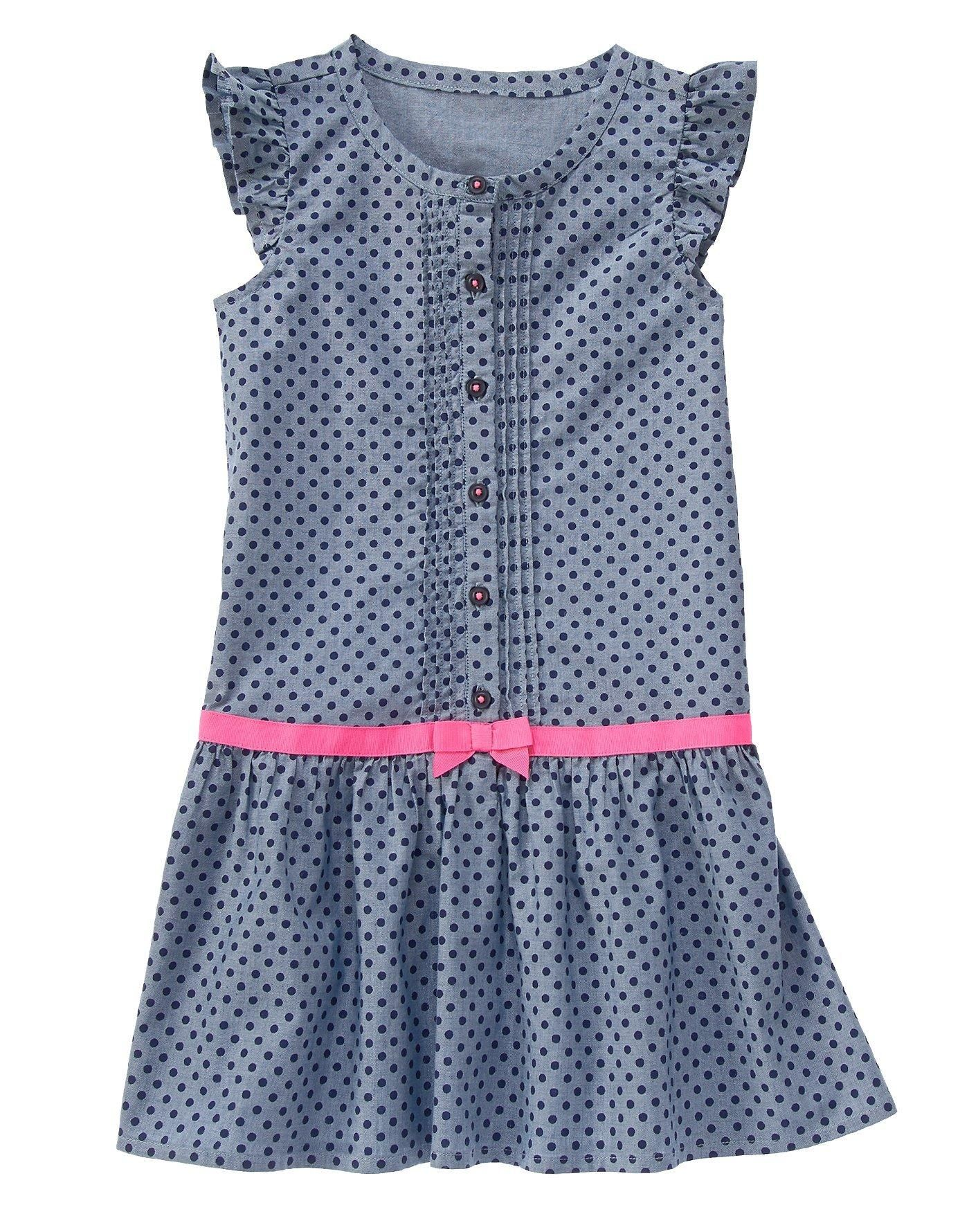 Polka Dot Ribbon Dress | vestidos niñas | Pinterest | Frauenmode ...
