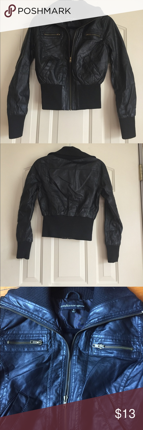 Bomber Jacket Hardly Used No Signs Of Wear Ambiance Jackets Coats Bomber Jacket Clothes Design Jackets [ 1740 x 580 Pixel ]
