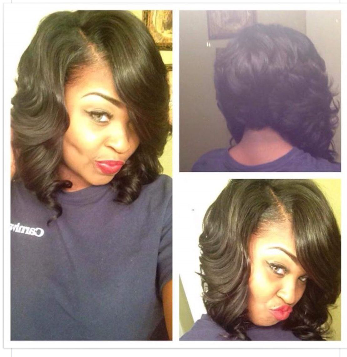 Quick Weaves Weave Bob Hairstyles Quick Weave Hairstyles Hair Styles