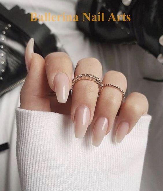 60 Beste Winter Nail Art Ideen 2019 Nail Desing Naildesing In 2020 Neutral Nails Acrylic Ballerina Nails Designs Christmas Nails Acrylic
