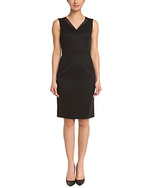T Tahari Textured Dress