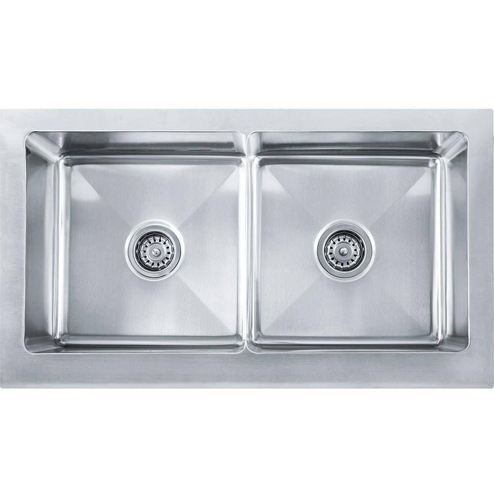 Franke Mhx720 36 Manor House Stainless Steel Double Basin