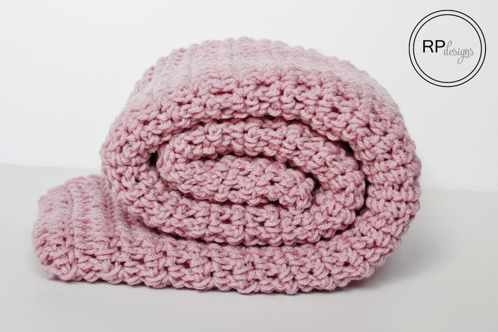 Simple Crochet Blanket Pattern From Rescued Paw Designs | Crochet ...