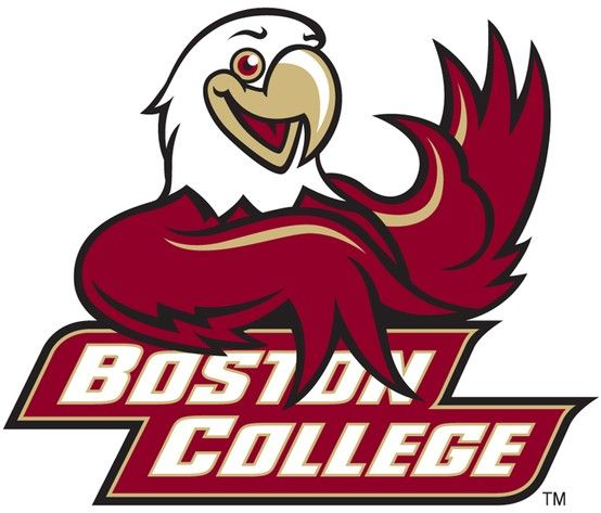 032750df Baldwin the Boston College Eagles mascot logo | College Mascots: ACC ...