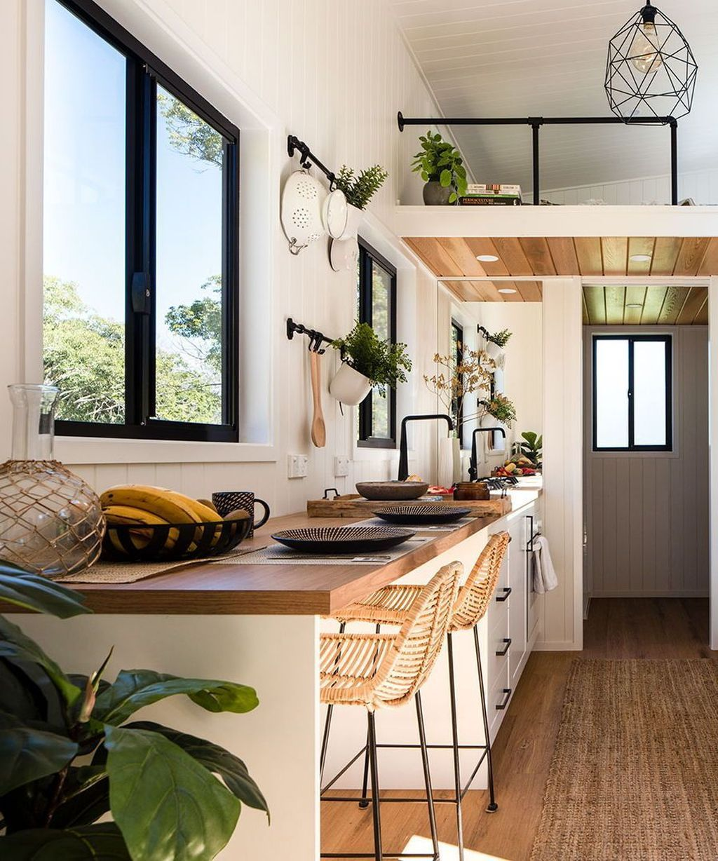 33 Staircase Designs Enriching Modern Interiors With: 33 Gorgeous Tiny House Interior Design And Decor Ideas