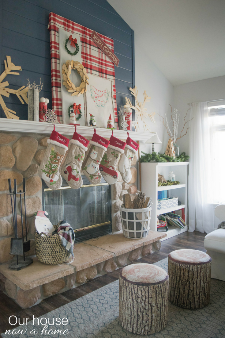 Home Decor Blogger Christmas Tour DIY Rustic Low Cost Whimsical And Simple Ways To Decorate For The Holidays