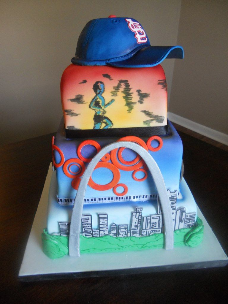 Meet Me in St. Louis   cakes to show m.i.l.   Themed wedding cakes ...