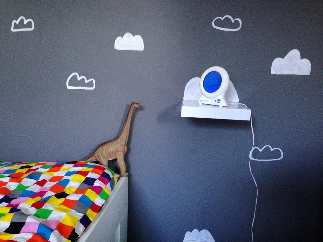 Cloudy wall #daddydaycare #doodles