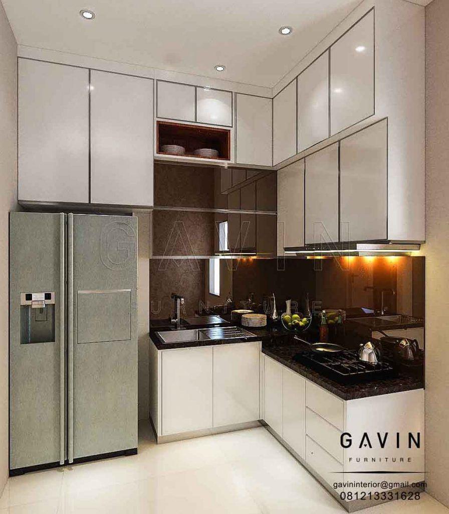 Bagi Anda Yang Ingin Mendapatkan Kesan Dan Suasana Ruang Dapur Yang Nyaman Menarik Serta Tampak Lebih Luas Maka Anda B Desain Dapur Lemari Dapur Kabinet Dapur