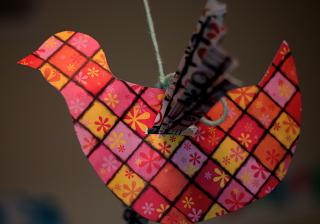 bedtime tales: Preschool Activity: Paper Bird Cut Outs