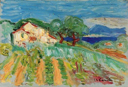 Charles Camoin, Le mas dans les vignes