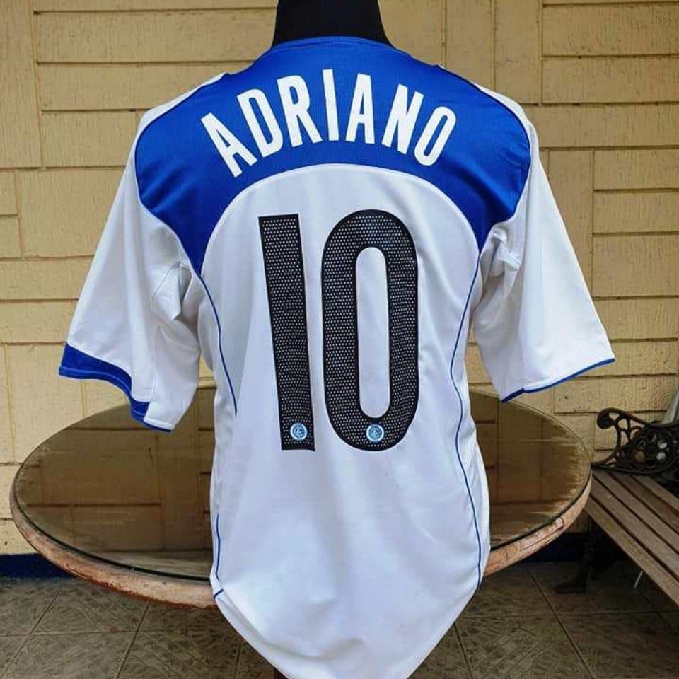 INTER MILAN 2004-05 ADRIANO 10 AWAY SHIRT | Vintage jerseys ...