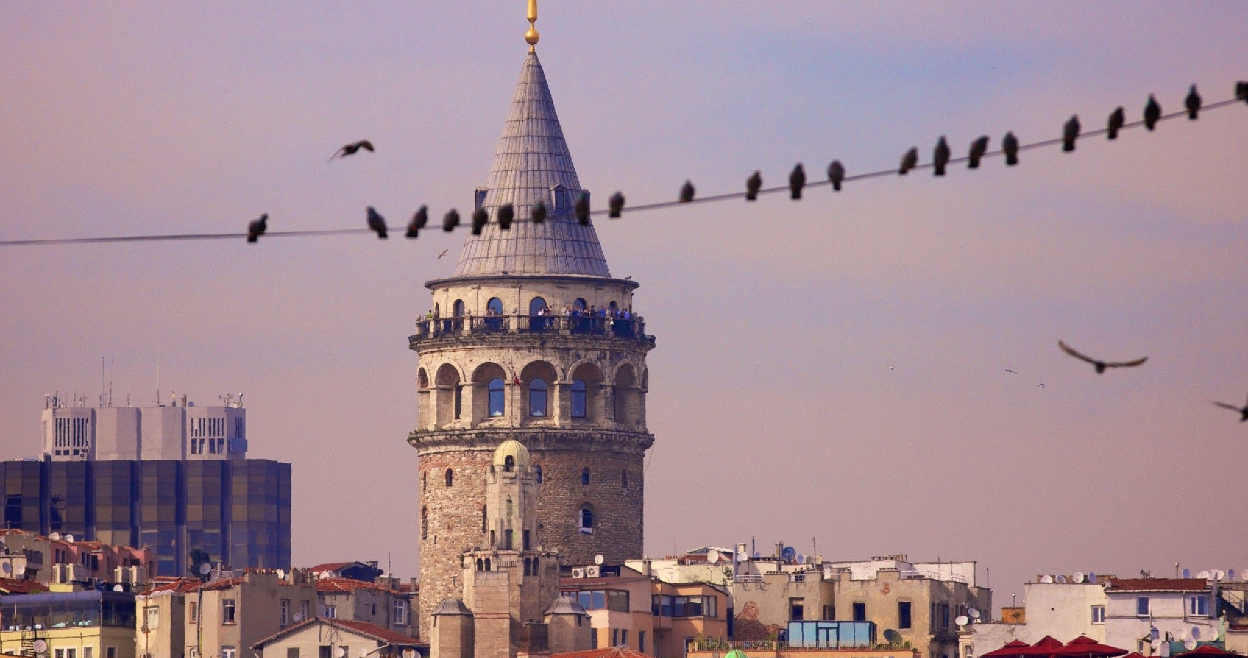 Istanbul Turkey Galata Tower Wallpaper 4k Ultra Hd Wallpaper