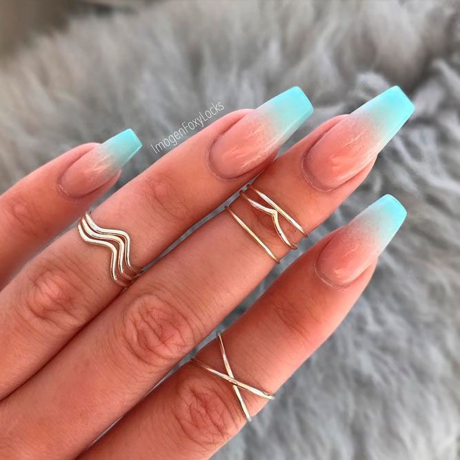 Fresh Ways How To Do Ombre Nails At Home Naildesignsjournal Summer Nails Colors Designs Ombre Acrylic Nails Glitter Gel Nails