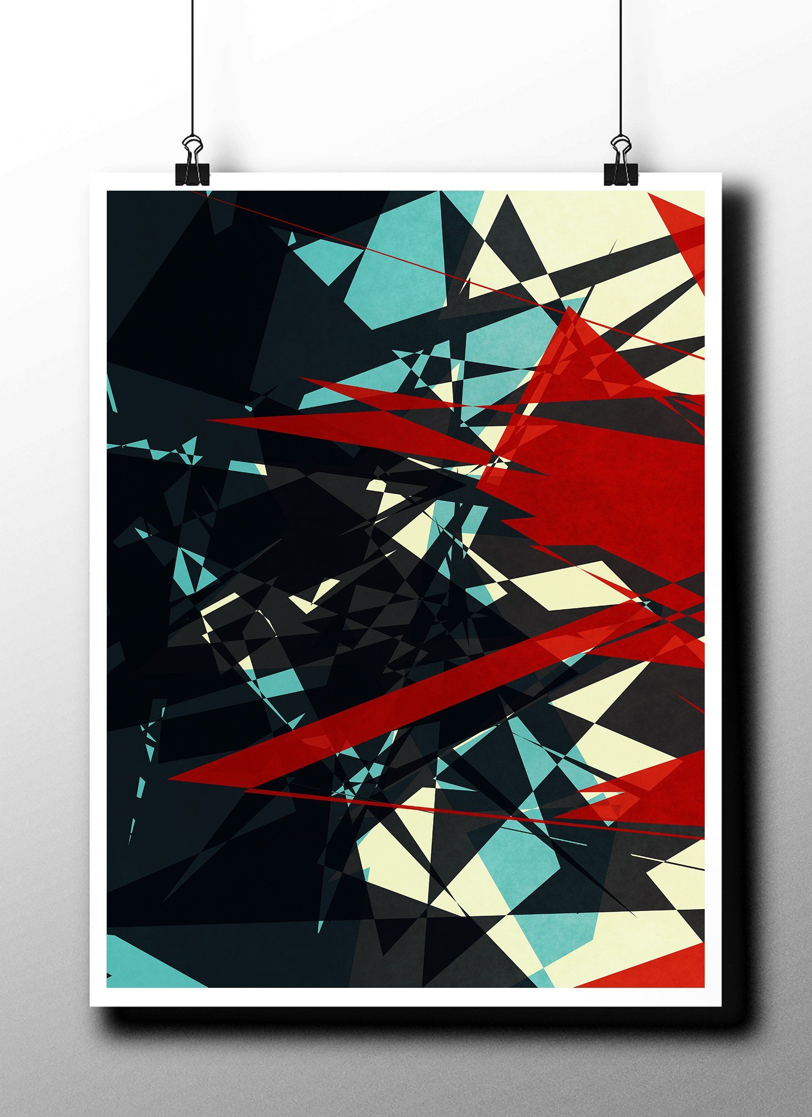 Download Printable Art,Grunge Wall Poster,Abstract Digital