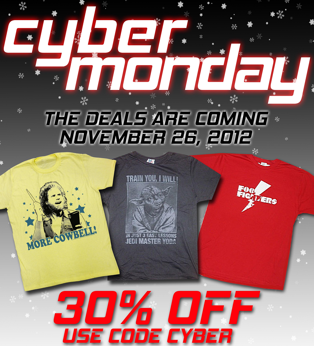 #CyberMonday Super #Sale, All day today! 30% off entire purchase!