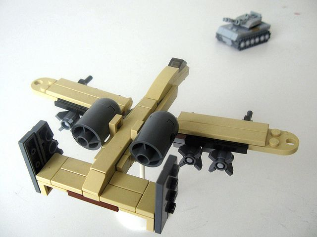 When Awesome Inspires More Awesome Lego Plane Micro Lego